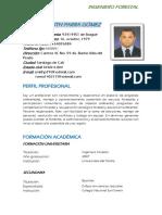 HOJA DE VIDA JUNIO 2019