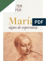 KASPER., W., María, signo de Esperanza, 2020 [Texto]
