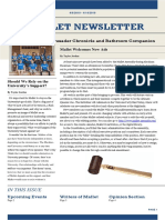 Mallet Newsletter issue a