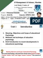 Advance Educational Psychology EDU 410 (1)