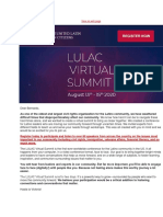 Register Today for the LULAC Virtual Summit