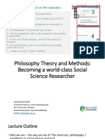 Philosophy Theory and Methods_28 July 2020