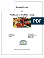 EATING HABITS PROJECT