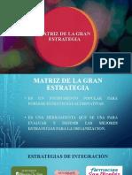 MATRIZ DE LA GRAN ESTRATEGIA