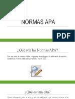 NORMAS APA AUTOMATIZADA