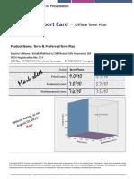 sample insurance research report