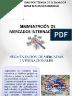 Clase 9 - Segmentación de Mercados Internacionales