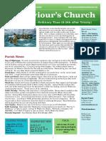 st saviours newsletter - 9 august 2020  trinity 9  ot19