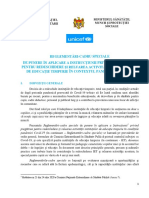 Reglementari-cadru Redeschidere Gradinite Final 07.08.2020