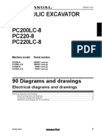 PC200-8 electrical