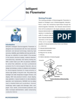 MFE600-Intelligent-Electromagnetic-Flowmeter