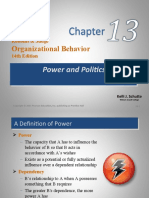 chap13 POWER AND POLITICS