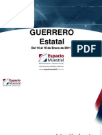 Encuesta Guerrero. Espacio
