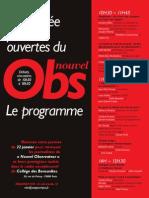 Programme portes ouvertes Nouvel Observateur - 1