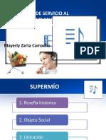 DIAGNÓSTICO DE SERVICIO AL CLIENTE Y PLAN DE MEJORAMIENTO SUPERMIO.pptx