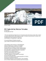 El Canto de las Sierras Nevadas por Milarepa
