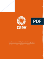 CARE (español) The Basics of Project implementation .en.es