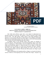CAUCASIAN CARPET LEZGHI STAR ORIGIN OF DESIGN AND Symbolism.pdf