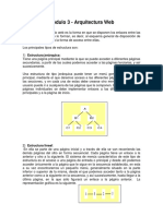 MÓDULO 3 - ARQUITECTURA WEB