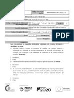 Ficha de Avaliação Ufcd 5645