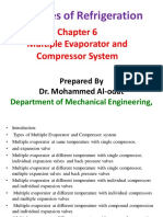 Chapter 6-Multiple Evaporator and Compressor