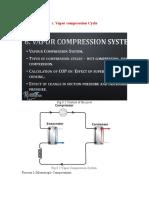 Vapor compression Cycle