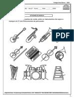 instrumentos musicais 1 ano