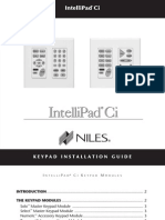 Niles Intellipad CI Solo Manual