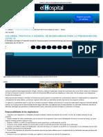 Colombia, Protocolo de bioseguridad para la prevención del covid-19