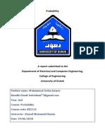 Muhammad_Zedan_Final_Report_Probability