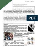 LA PSICOLOGÍA LA PSICOLOGÍA Y SU RELACIÓN CON  EL AMBIENTE FÍSICO Y SOCIAL