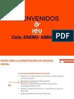 INDUCCIÓN PLATICA DE SERVICIO SOCIAL 2020 EJECUTIVA