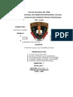 TRABAJO APLICATIVO USO DE LA FUERZA GRUPO Nº 02