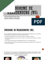 Síndrome de waardenburg (WS)