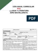 PLANIFICACIÓN ANUAL CURRICULAR PCA TERCERO BACHILLERTO
