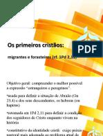 Migração e cristianismo