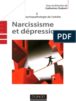 Traité de psychopathologie de l'adulte - Narcissisme et dépression by Catherine Chabert