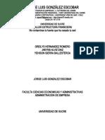 Taller Aplicativo - Estructura Financiera