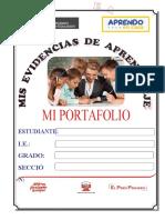 PORTAFOLIO ESTUDIANTE - APRENDO EN CASA