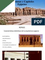 Clase 3 Columnas y Capiteles Egipcios