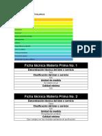 Materia Prima e Insumos-Tamaño de proyecto