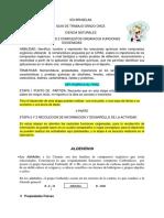 GUIA  ONCE FUNCIONES OXIGENADAS 2 PARTE