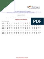 1. DPE-PE 2018 (Cespe) - gabarito