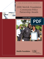 2006 MetLife Foundation Police Community Relations Award--SUN
