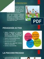EDUCACIÓN PSICOMTRIZ diapos