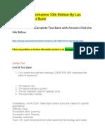 Automotive Mechanics 10th Edition by Les Simpson – Test Bank