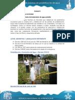 Unidad 3 DIAGNOSTICO DE UNA PLANTA TRATAMIENTO DE AGUA