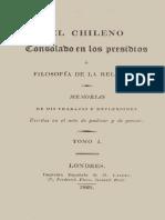 El chileno consolado en los presidios