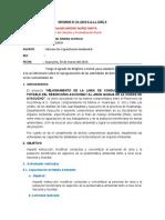INFORME DE CAPACITACIÓN