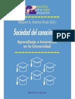 Sociedad del conocimiento. Aprendizaje e innovación en la universidad.pdf